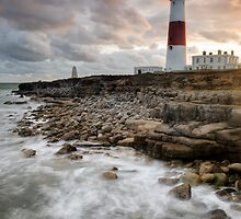 Portland Bill at Last Light by Chris Frost Photography