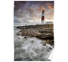 Portland Bill at Last Light Poster