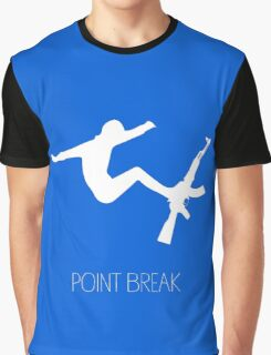 Point Break Movie AK-47 Surf Graphic T-Shirt