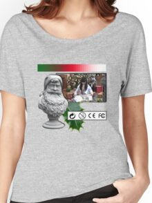 A Very Vaporwave 醜い Christmas Sweater  Women's Relaxed Fit T-Shirt