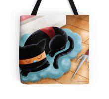 Ninja Cat Nap Tote Bag