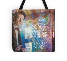 11th Doctor Who Matt Smith Tote Bag