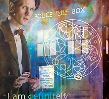 11th Doctor Who Matt Smith by BlackRiverArtHs