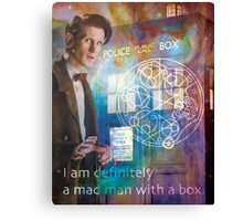 11th Doctor Who Matt Smith Canvas Print