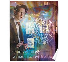 11th Doctor Who Matt Smith Poster