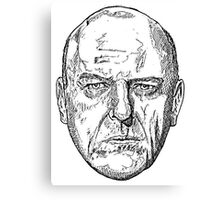 Hank Schrader Breaking Bad Canvas Print