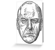 Hank Schrader Breaking Bad Greeting Card