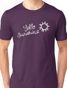 yello sunshine Unisex T-Shirt