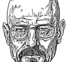 Walter White Breaking Bad by benjamincharman