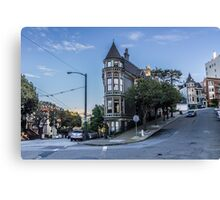 Home in Haight Canvas Print