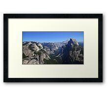 Glacier view Framed Print