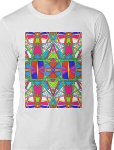 Patterns 8 - Pipe Cleaners Long Sleeve T-Shirt