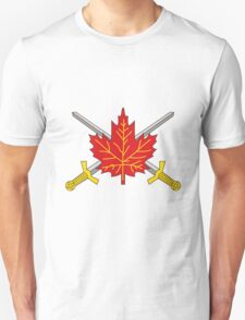 Canadian Army Unisex T-Shirt