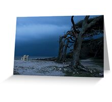 Driftwood Beach, Jekyll Island Georgia  Greeting Card