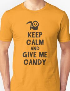 Keep calm and give me candy T-Shirt