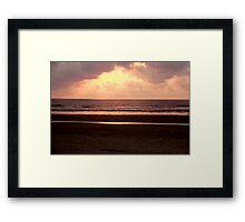 Breathtaking Sunrise Framed Print