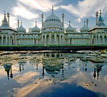 Brighton Pavillion Reflections by Giuseppe Digno