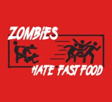 Zombies hate fast food by nektarinchen