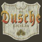 Dusche - Beer Label by Tom  Ledin