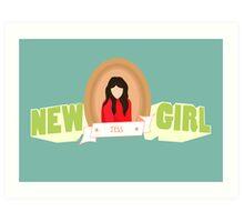 who's that girl? Art Print
