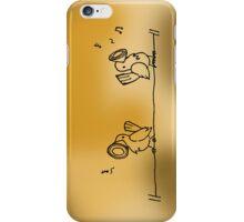 Tweeters (Brown) iPhone Case/Skin