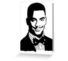 Carlton Banks Greeting Card