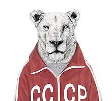 soviet lion by soltib