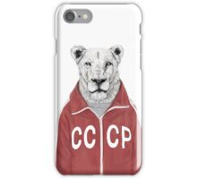 soviet lion iPhone Case/Skin