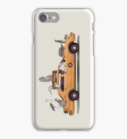 1-800-TAXI-DERMY iPhone Case/Skin