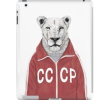 soviet lion iPad Case/Skin
