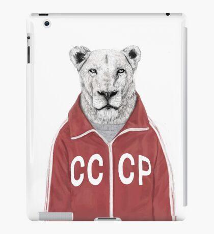 soviet lion iPad Case/Skin