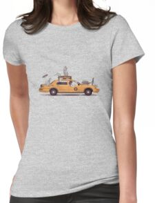 1-800-TAXI-DERMY Womens Fitted T-Shirt