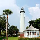 Saint Simons Georgia Lighthouse  by loriwellsphoto