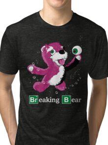 Breaking Bear Text Tri-blend T-Shirt