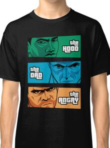 the Hood, the Dad & the Angry Classic T-Shirt
