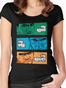 the Hood, the Dad & the Angry Women's Fitted Scoop T-Shirt
