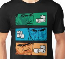 the Hood, the Dad & the Angry Unisex T-Shirt
