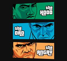 the Hood, the Dad & the Angry T-Shirt