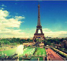 Eiffel Tower Paris by Fernando Hernandez