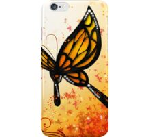 Butterfly (Red) iPhone Case/Skin