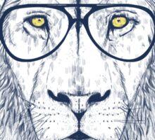 Cool lion Sticker