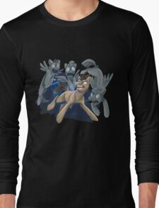 Doctor Whooves and His Angels Long Sleeve T-Shirt