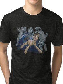 Doctor Whooves and His Angels Tri-blend T-Shirt