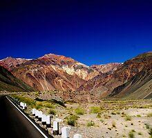 Los Andes  Argentina by Angelika  Vogel