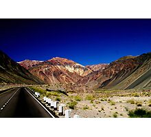 Los Andes  Argentina Photographic Print