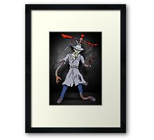 Inspector Zombie Framed Print