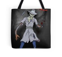 Inspector Zombie Tote Bag