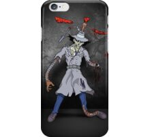 Inspector Zombie iPhone Case/Skin