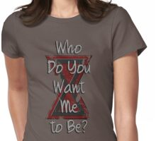 How about a friend? Womens Fitted T-Shirt
