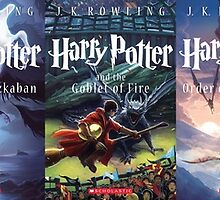 Harry Potter Covers (Scholastic) II by TrentCurtis